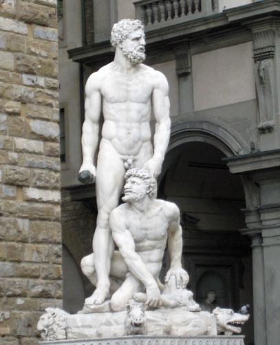 Секс с статуей видео